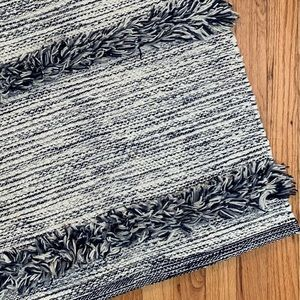 NWT Textured Woven Area Rug